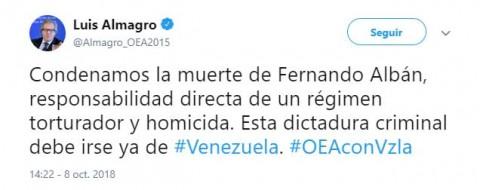 Reclama ONU a Venezuela investigación sobre muerte de implicado en ataque a Maduro