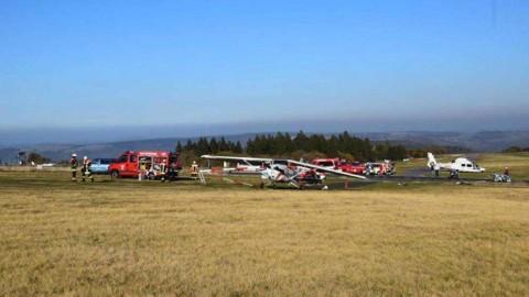 Avioneta choca contra gentío en Alemania; hay varios muertos
