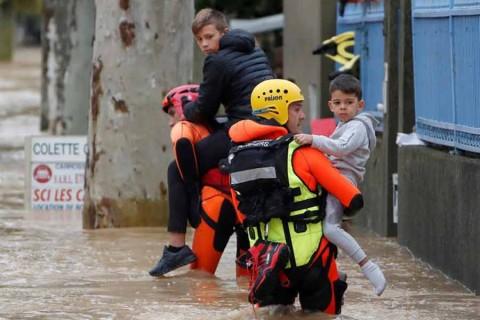 Al menos 13 muertos por inundaciones en el sur de Francia