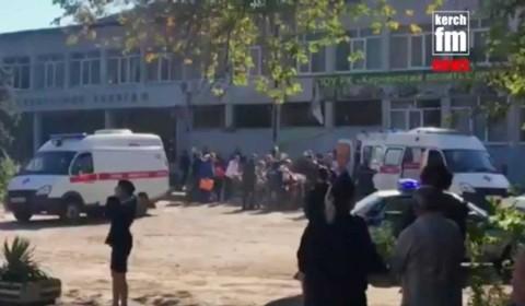 Ataque en secundaria de Crimea deja al menos 18 muertos
