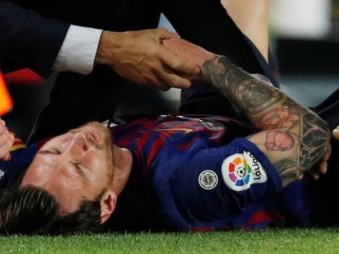 fc barcelona, lionel messi, laliga, luis suárez, lesión messi