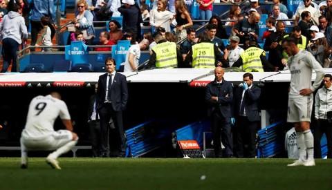 El Levante hunde al Real Madrid en el Bernabéu