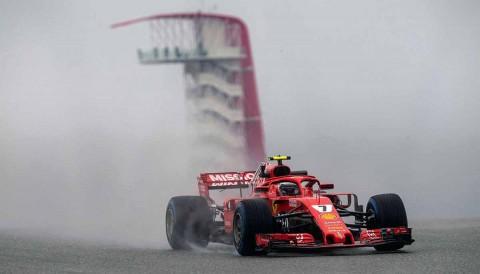 Raikkonen Ferrari Austin