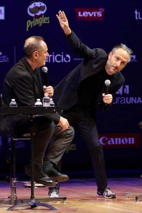 """El fotógrafo mexicano Emmanuel """"El Chivo"""" Lubezki  dijo que su trabajo es ser colaborador y traducir las ideas del director, por lo que se considera un """"psiquiatra de la imagen"""""""