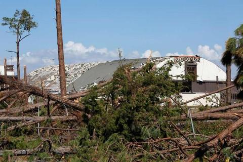 Suben a 39 los muertos en Estados Unidos por el huracán 'Michael'