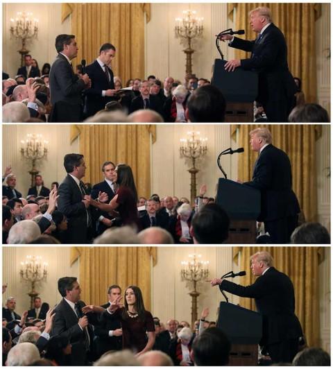 Trump ataca a periodista de CNN y lo llama 'grosero y terrible'