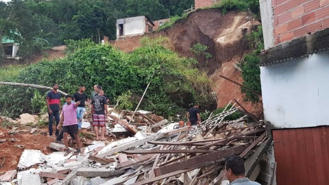 Deslave en Brasil deja al menos 3 muertos y 9 heridos