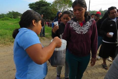 Noticias de Hoy, Hondureños Corren Salvadoreños Llegan Oaxaca, Hondureños Corren Salvadoreños Oaxaca, Hondureños Corren Salvadoreños, Migrantes, Violencia, Solidaridad, Oaxaca