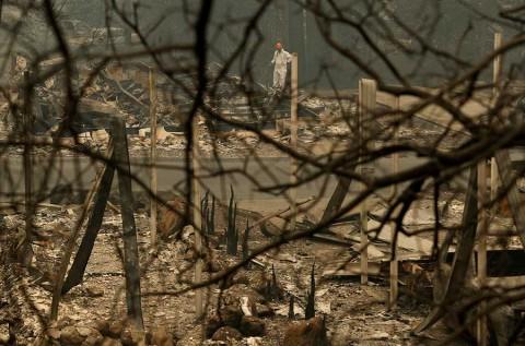 56 muertos: incendio en California es el más mortal en un siglo