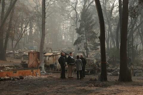 Trump constata tragedia en California por incendios y promete ayuda
