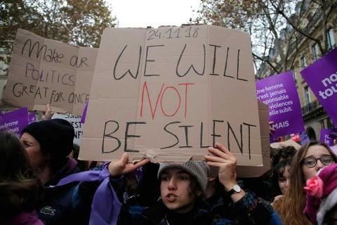 'Ni una menos', claman miles de mujeres en todo el mundo