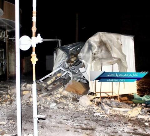 Suman más de 700 heridos en Irán tras sismo