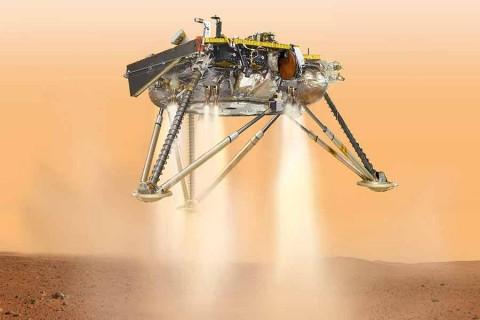 Sigue aquí el aterrizaje de la sonda InSight en Marte