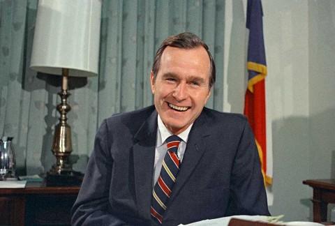 Líderes internacionales resaltan legado de George H.W. Bush
