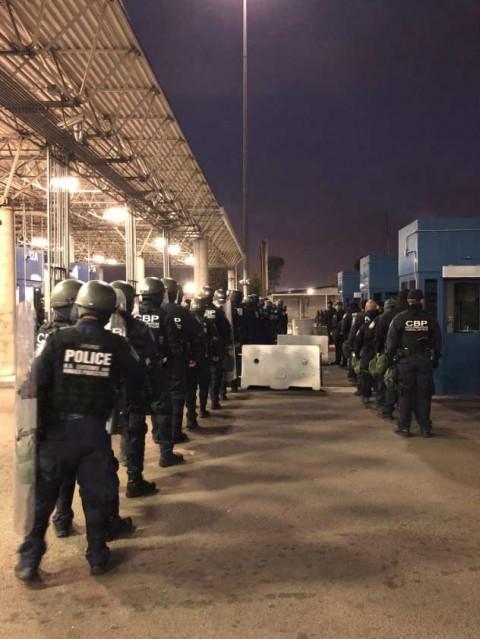 Estados Unidos vuelve a cerrar frontera con México por simulacro de seguridad