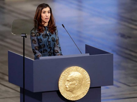 Los Nobel de la Paz 2018 piden justicia contra abusos sexuales