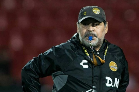 Diego Maradona Internado, Maradona Dorados Sinaloa, Diego Armando Maradona, Sangrado Estomacal, Dorados Sinaloa, Ascenso Mx, Futbol Mexicano, Hospital, Endoscopia, Maradona, Noticias, Adrenalina, Excélsior,