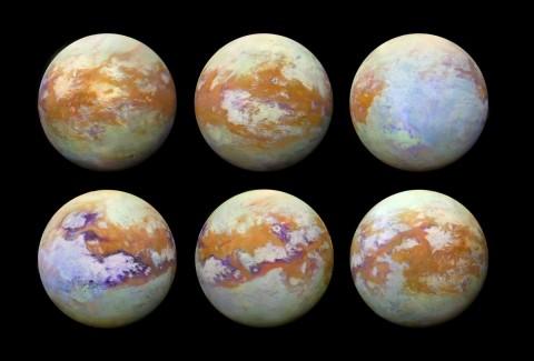 Descubren posibles ríos y lagos en Titán, luna de Saturno