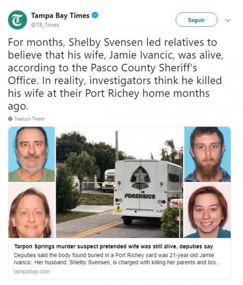 Un sujeto asesino a esposa, suegros, cuñado y sus 3 perros