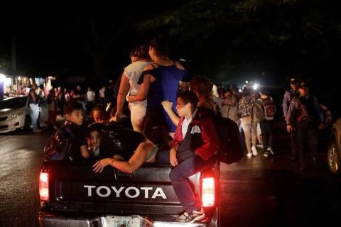 Capturan en Honduras a supuesto líder de nueva caravana migrante