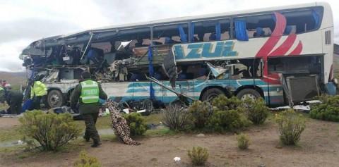 Accidente de tránsito en Bolivia deja al menos 22 muertos