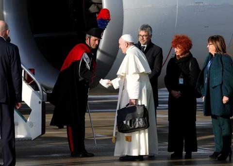 El Papa condena muro fronterizo: 'Es el miedo que nos vuelve locos'