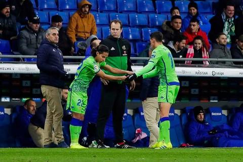 Lainez participa en victoria del Betis en Copa del Rey