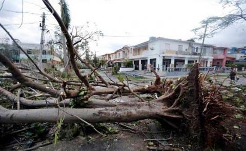 Así arrasó el tornado en Cuba
