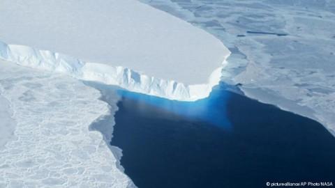 La NASA advierte del colapso de glaciar en Antártida