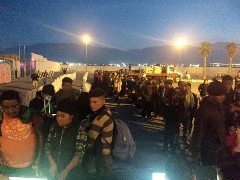 Rumbo a Piedras Negras mil 674 migrantes