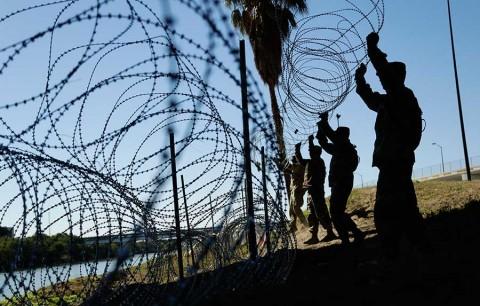 Estados Unidos enviará más 3 mil soldados a la frontera con México