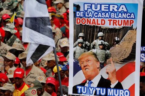 Envío de tropas a Venezuela es una opción, reitera Trump