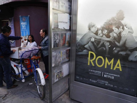 Musica de Roma Pelicula, Alfonso Cuaron, Spotify, Soundtrack Roma, Roma Nominaciones Oscar, Yalitza Aparicio, Marina de Tavira, Perro Roma, Excelsior, Noticias