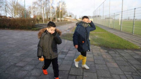 Apesta horrible en gran parte de Holanda debido a una fuga