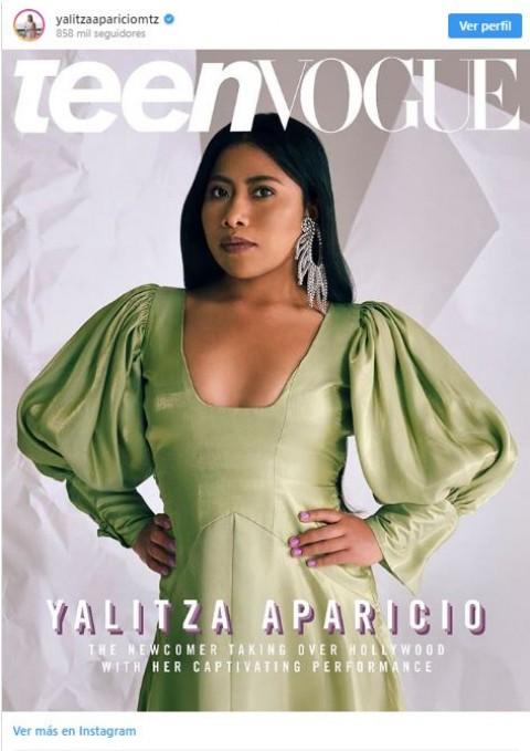 Ella es Sherin, la impactante doble de Yalitza Aparicio