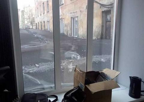 Cae nieve negra en Siberia