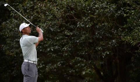 Tiger Woods durante su participación en el WGC México en el Club Chapultepec