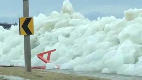 'Tsunami de hielo' sorprende a Estados Unidos