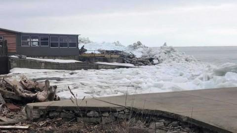 Un sorprendente tsunami de hielo pone en alerta a Estados Unidos