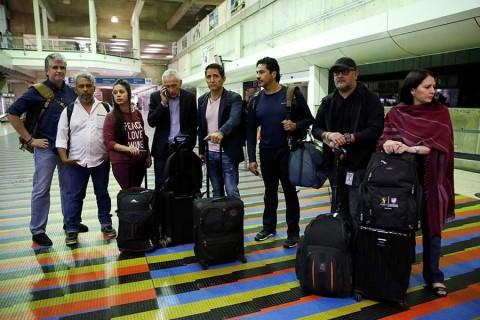 Jorge Ramos llega a Estados Unidos; reta a Maduro a publicar entrevista