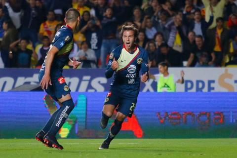 Francisco Córdova anotó después de Nico Castillo y empató agónicamente el partido contra Morelia.