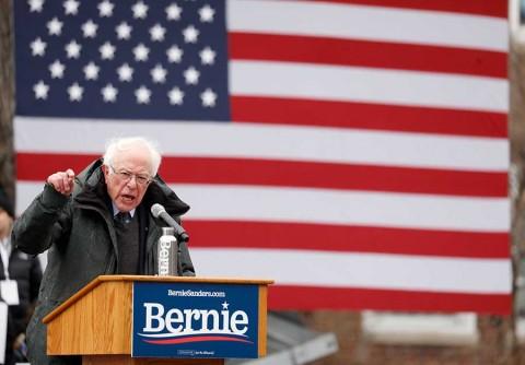 Sanders comienza su campaña electoral contra Trump, la