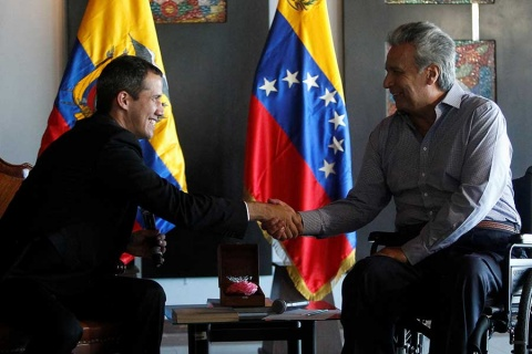 Guaidó llegó a Caracas y llamó a marchar el sábado - Actualidad