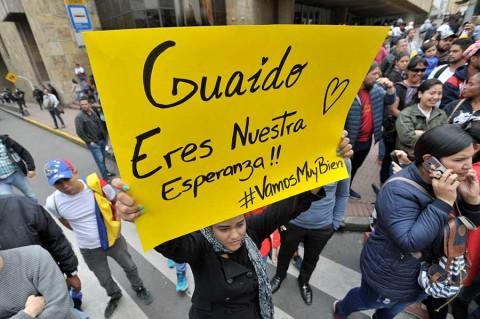 Tensión en Venezuela por regreso de Juan Guaidó