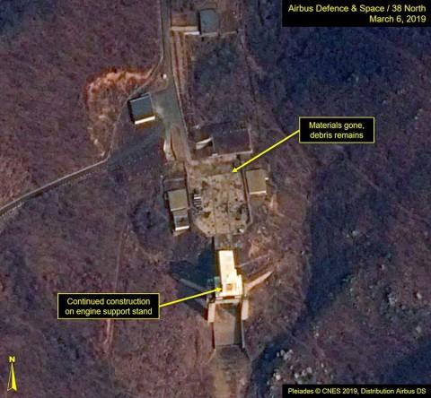 Corea del Norte estaría preparando un posible lanzamiento