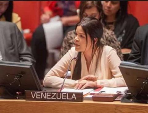 Quieren deportar de Estados Unidos a hija de Hugo Chávez que es embajadora en la ONU