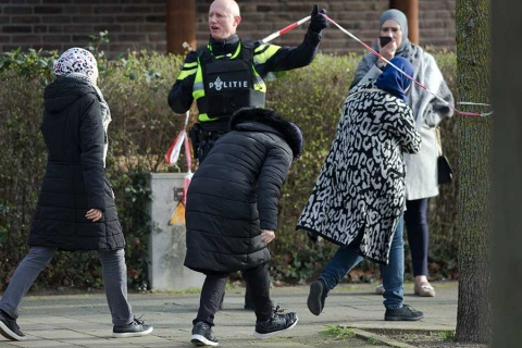 Capturan a sospechoso de tiroteo en Holanda