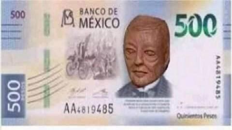 meme del busto de Benito Juárez