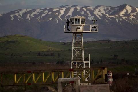 Los Altos del Golán, un territorio sirio que Trump 'regaló' a Israel