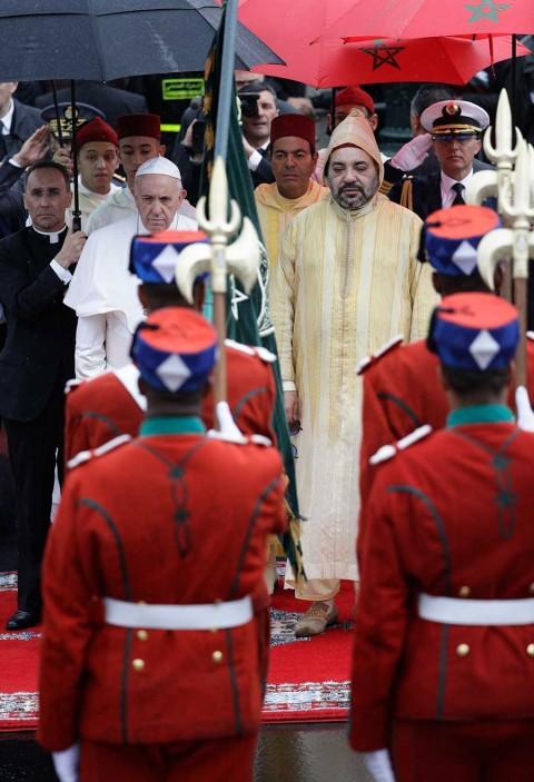 'La inmigración no se resuelve con barreras': el Papa en Marruecos